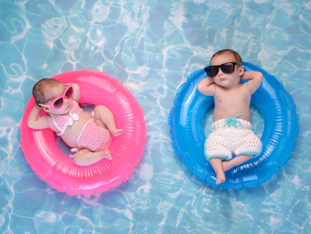 How to keep your Little One Cool in Hot Weather.