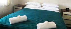 homeslider bedroom blue