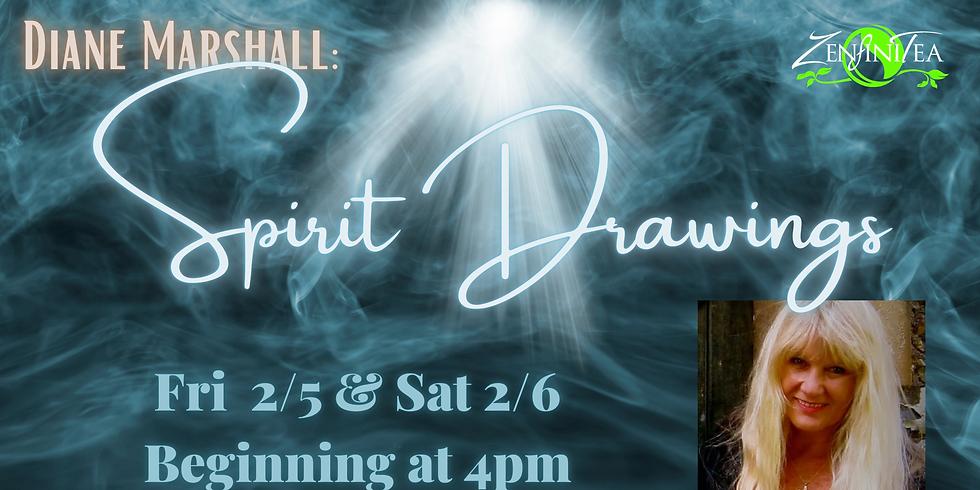 Spirit Drawings by Diane Marshall