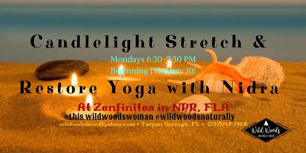 Candlelight Stretch & Restore Yoga with Nidra