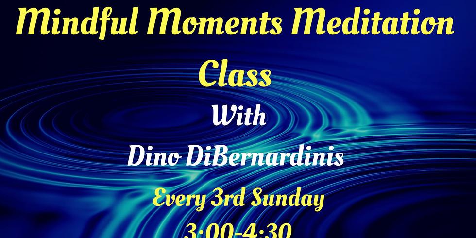 Mindful Moments Meditation Class
