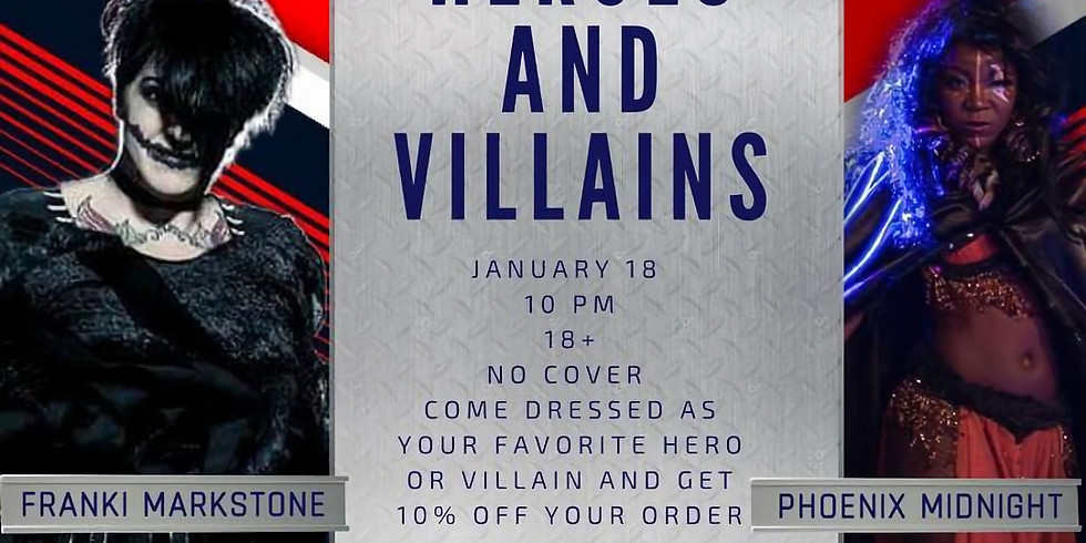 A Night of Burlesque - Heroes & Villains
