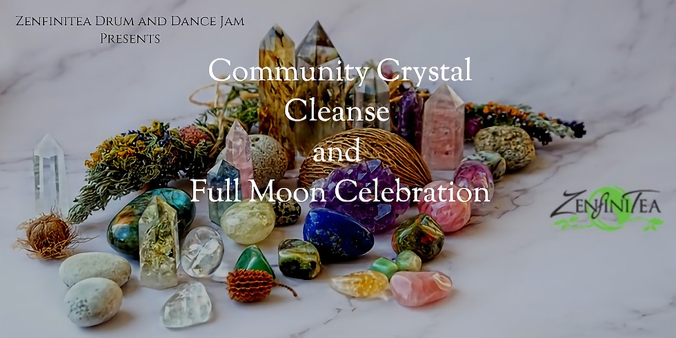 Community Crystal Charge and Full Moon Celebration