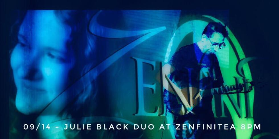 September 14th: Julie Black Duo at ZenfiniTea