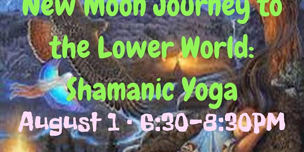 New Moon Journey to the Lower World: Shamanic Yoga