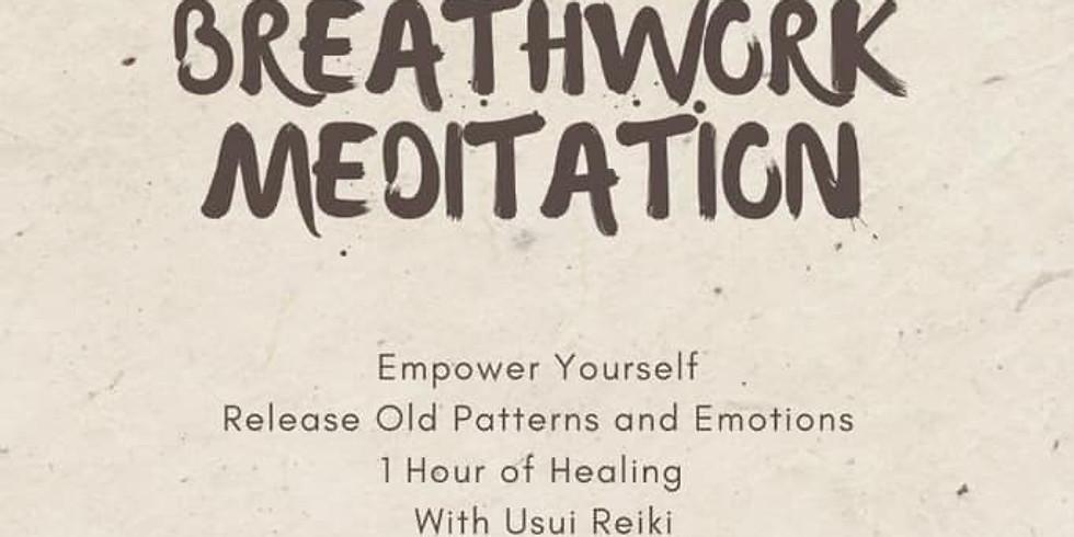 Breathwork Meditation Reiki Healing