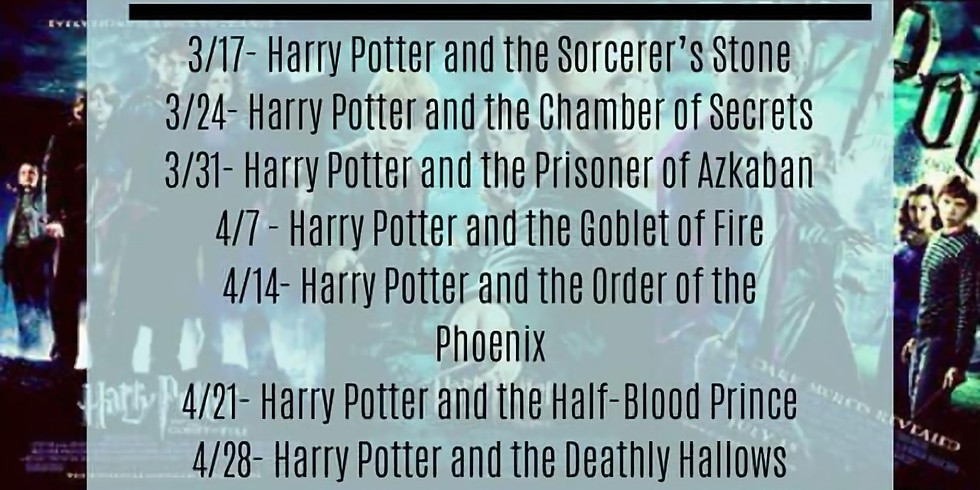 Harry Potter and the Goblet of Fire - Week 4