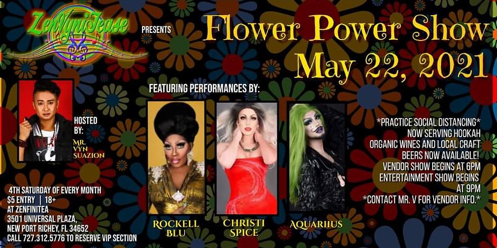 ZenVyniTease: Flower Power Showcase