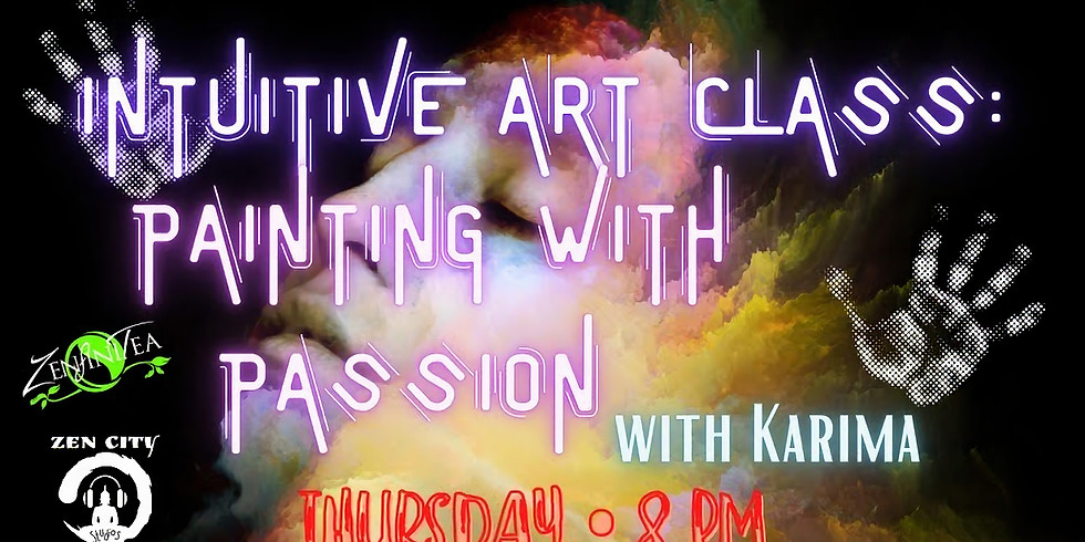 Intuitive Art Class: Painting with Passion
