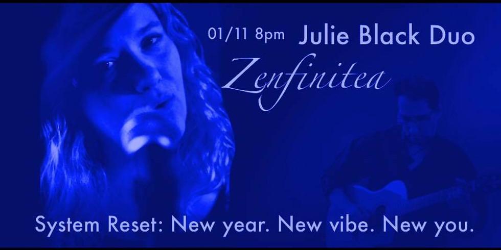 01.11.2020 - Julie Black Duo at ZenfiniTea