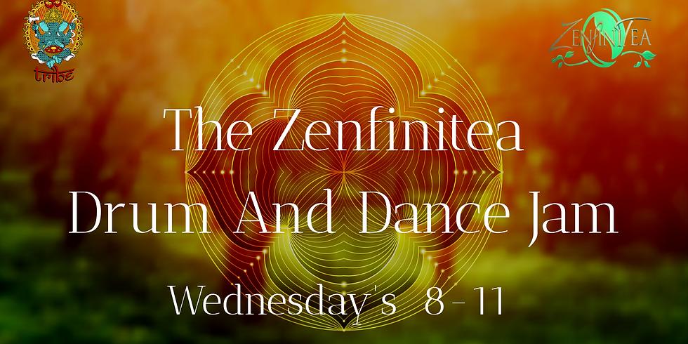 ZenfiniTea Drum And Dance Jam