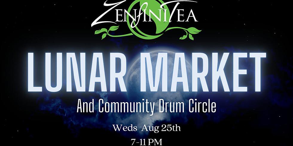 Lunar Market and Community Drum Circle