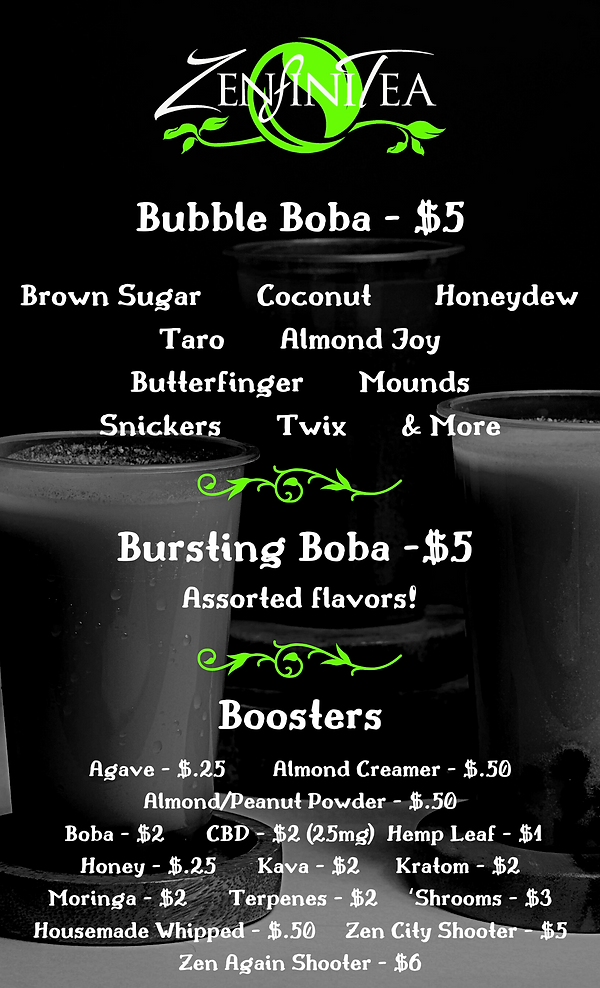 Boba & Boosters