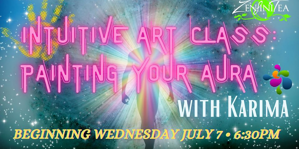 Intuitive Art Class: Painting Your Aura