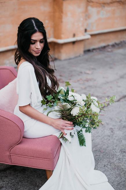 Intimate wedding photography