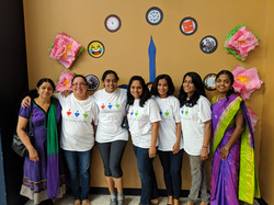 Pure Hearts team at the Women's Day even
