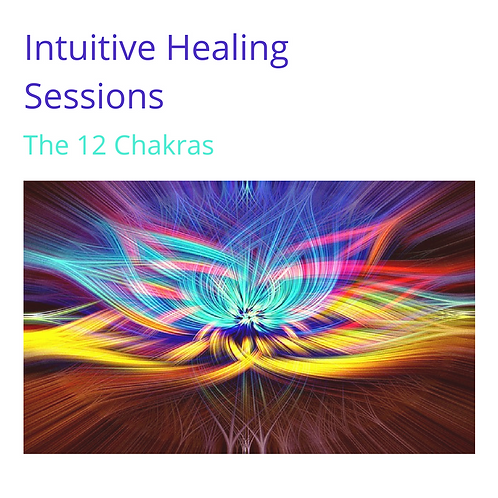 The 12 Chakras - Intuitive Healing Sessions