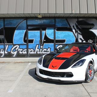 Corvette wrap