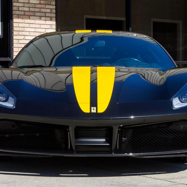 Ferrari Stripes and PPF