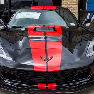 Corvette stripes.
