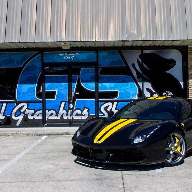Ferrari Stripes.