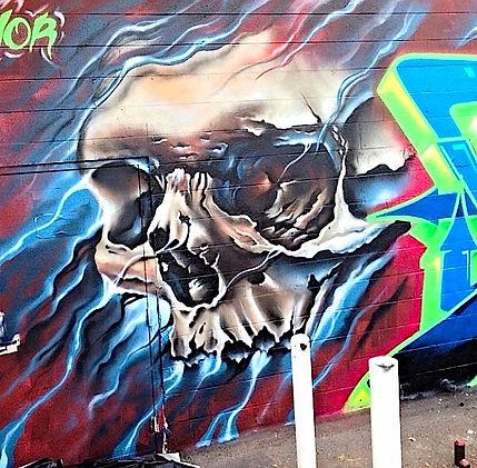 armor graffiti