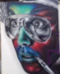los angeles street artist, kyle boatwright, san diego street artist, los angeles graffiti artist, san diego graffiti artist, muralist, portrait art, realism