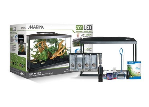 Marina 20G LED Aquarium Kit