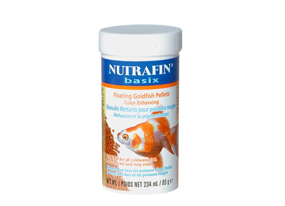 Nutrafin Floating Goldfish Pellets 85gr