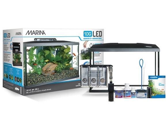 Marina 10G LED Aquarium Kit