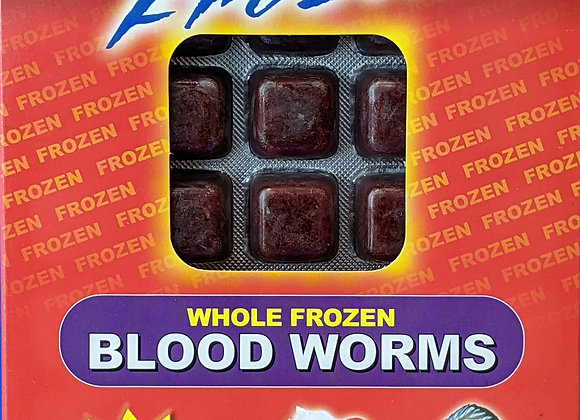 Omega One Frozen Bloodworm 7oz