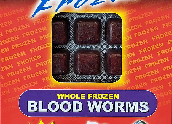 Omega One Frozen Bloodworm 3.5oz