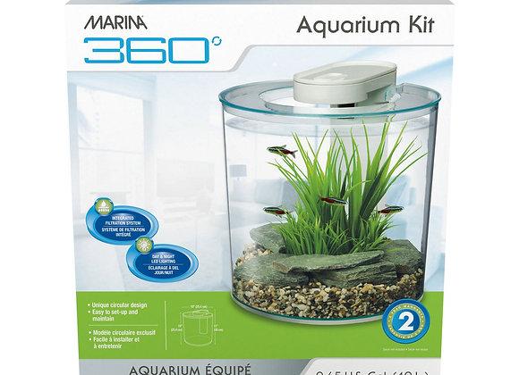 Marina 360 Aquarium Kit 2.65 Gallon