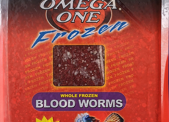 Omega One Frozen Bloodworm 1lb
