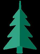 Dobradura da Árvore de Natal