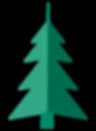 クリスマスツリーを折りたたみ