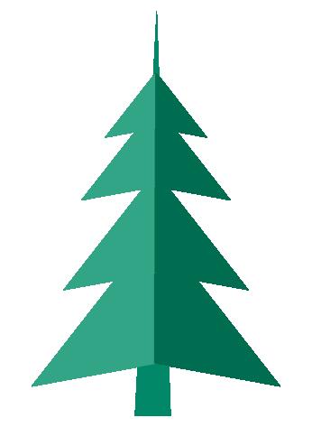 Sapin de Noël Pliable