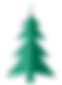 Árbol de Navidad plegable