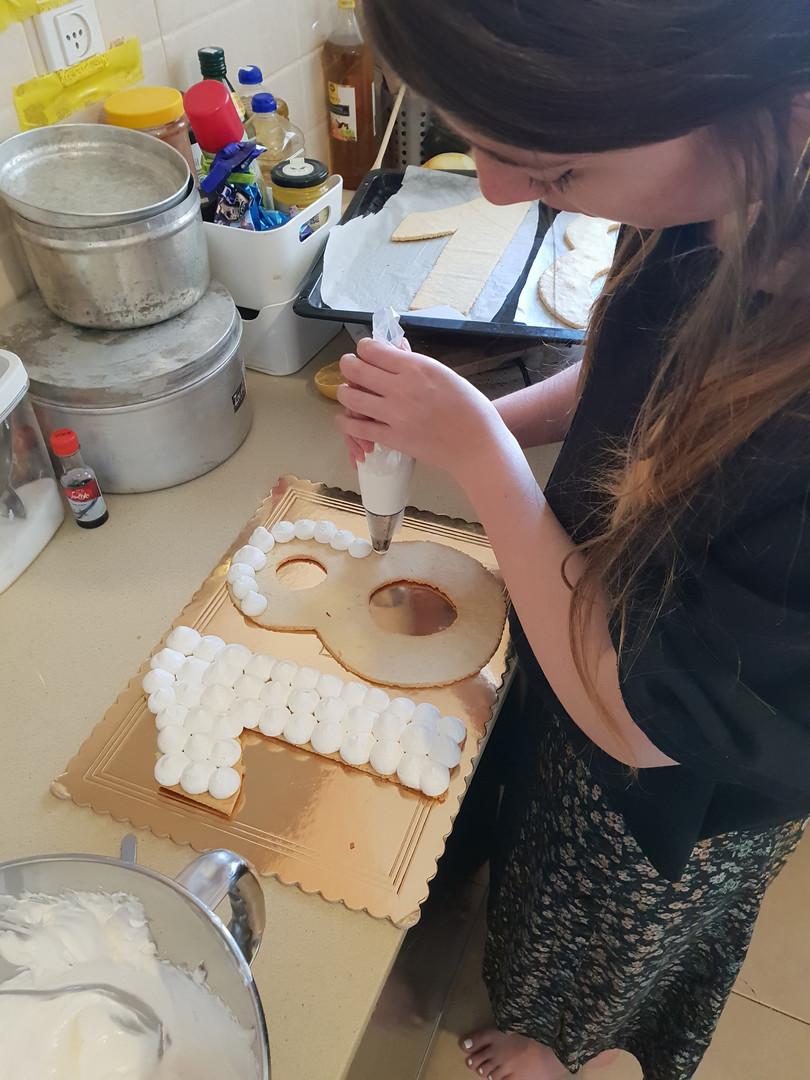 סדנת עוגת מספרים - בוגרים