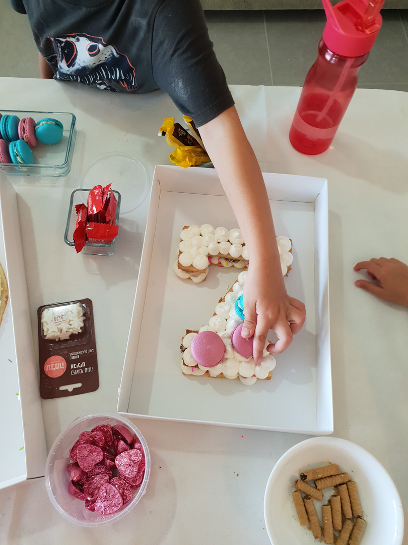 סדנת עוגת מספרים - ילדים