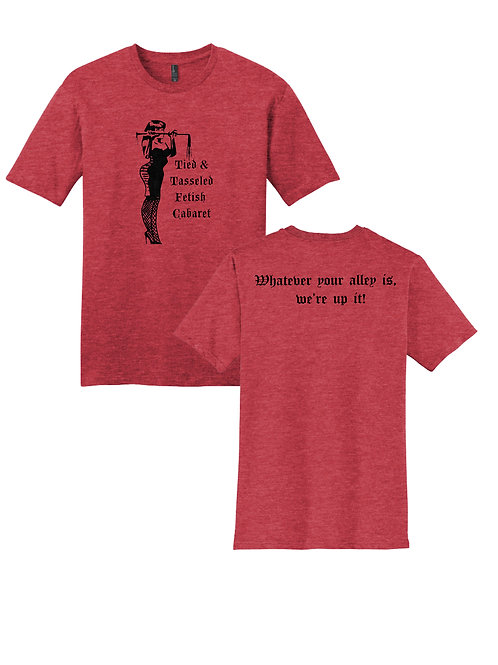 Red Flogger Tee