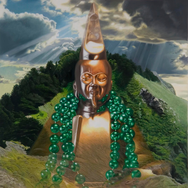 Buddha on the Mountain