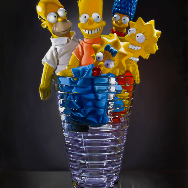 Simpsons in a Crystal Vase