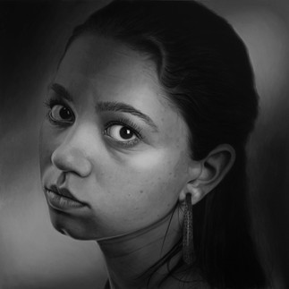 Girl With The Hoop Earing