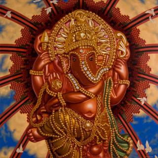 Diamond Ganesha