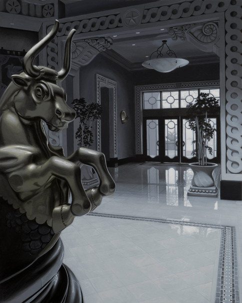 Minotaur Guarding The Entrance To Atlantis