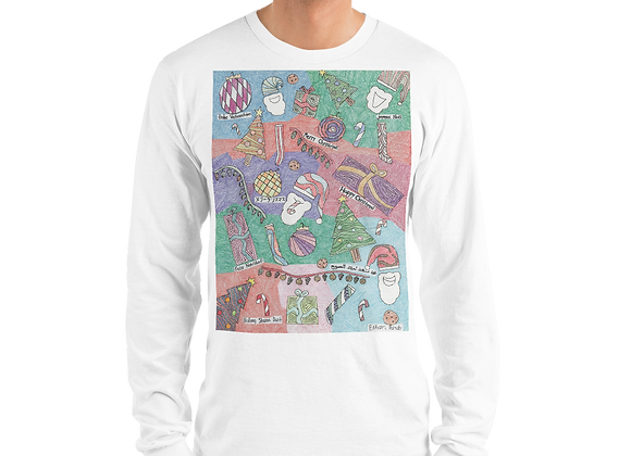 """""""Christmas Unwrapped"""" Long Sleeve T-Shirt"""
