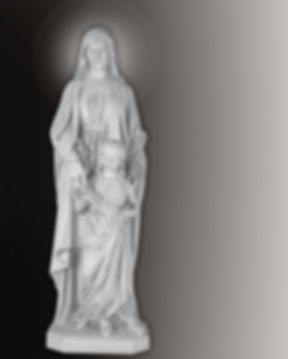 saint ann and mary statue