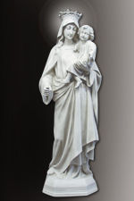 our lady of mount carmel statue