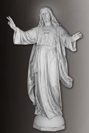 daprato sacred heart statue